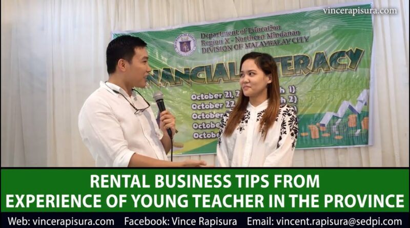 #UsapangPera 106: Rental business tips in the province