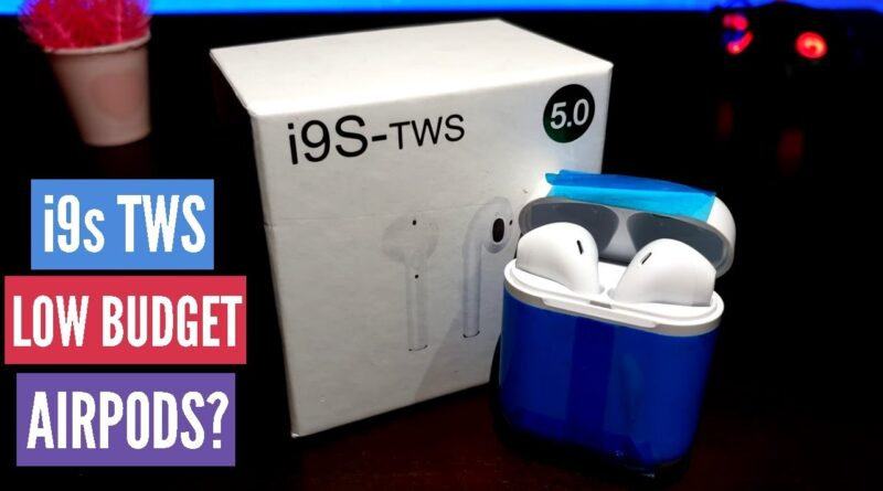 i9s tws Review Airpods Unboxing & Pairing to Android Device