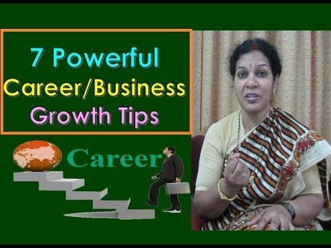 """""""7 Powerful Career/Business Growth Tips"""" - In English"""