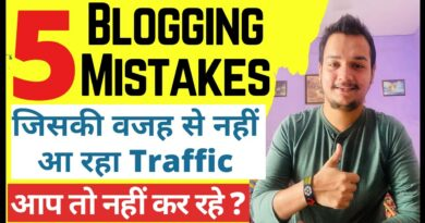 5 Running a blog Errors Due to That You aren't Getting Free Web site Visitors | Running a blog Errors 8