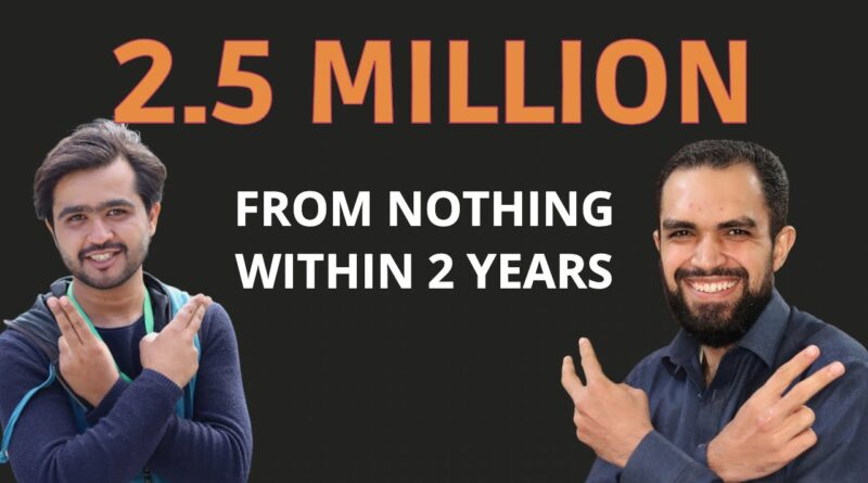 Success Story: How Safi Afridi Made 2.5 Million Inside 2 Years.🔥 5