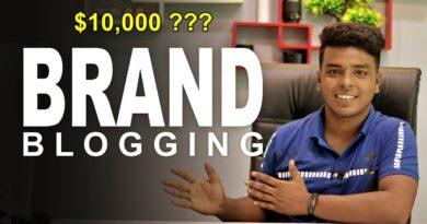 Branded Running a blog 🔥 Make $10,000/Month??? 8