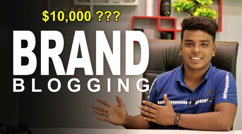 Branded Running a blog 🔥 Make $10,000/Month??? 5