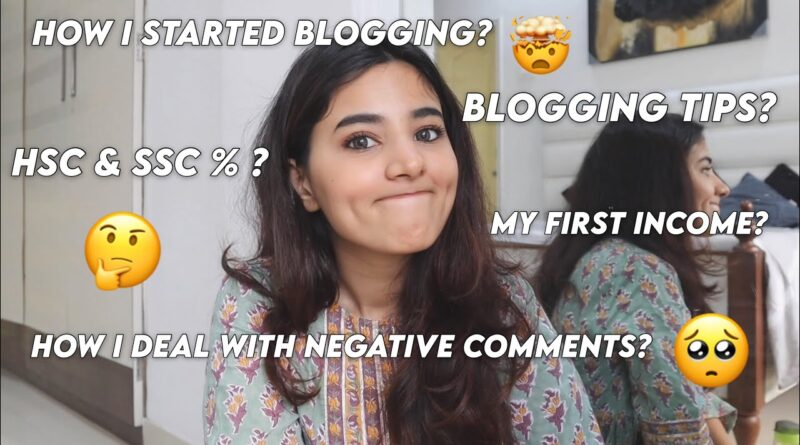 MY FIRST INCOME   HOW I STARTED BLOGGING   10TH, 12TH %   & MORE   Q&A   TheSassThing 5