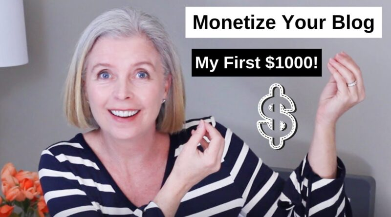 Find out how to Monetize a Weblog on Wordpress | How I made my first $1000 Running a blog 5