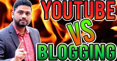 Youtube Vs Running a blog Which One Is Higher In 2020 Full Particulars 8