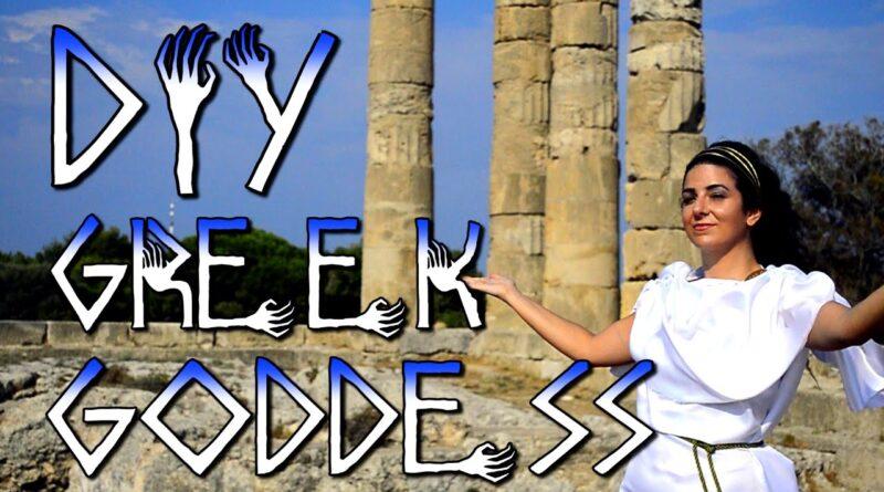 Greek/Roman Goddess/God costume Halloween DIY 5