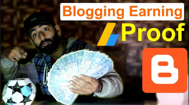 Running a blog Incomes Proof From Google AdSense (1000$) | AdSense Incomes Proof 5