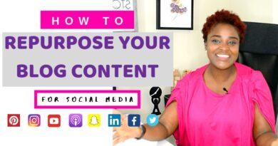 REPURPOSE & RECYCLE YOUR BLOG CONTENT (CREATE CONTENT FROM OLD BLOGPOST) 8