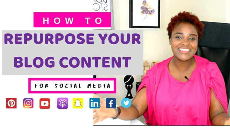 REPURPOSE & RECYCLE YOUR BLOG CONTENT (CREATE CONTENT FROM OLD BLOGPOST) 5