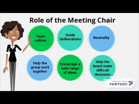 7 Tips for Chairing a Meeting