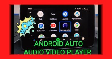 ANDROID AUTO VIDEO PLAYER (2020)