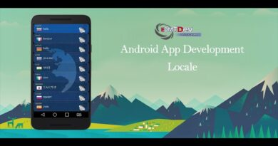 Android Studio Tutorial - How to change app language without changing phone language edmt dev