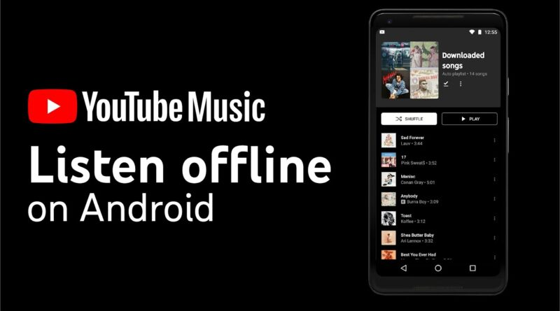 Download music to listen offline with YouTube Music (Android)