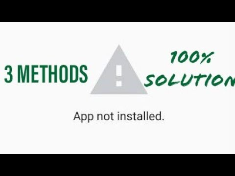 How to fix app not installed android | how to fix app not installed | how to fix apk not installed