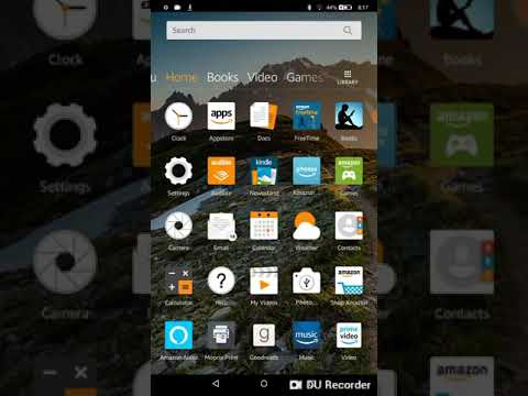How to install any app or game on amazon kindle fire