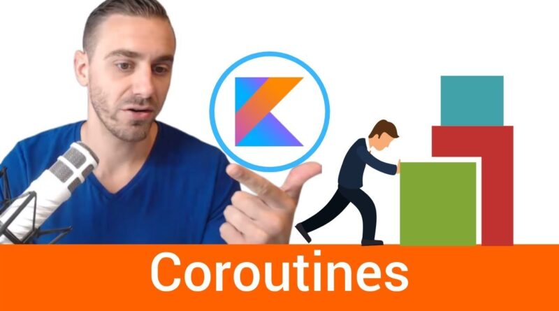 Kotlin Coroutines Beginner Example (Android)