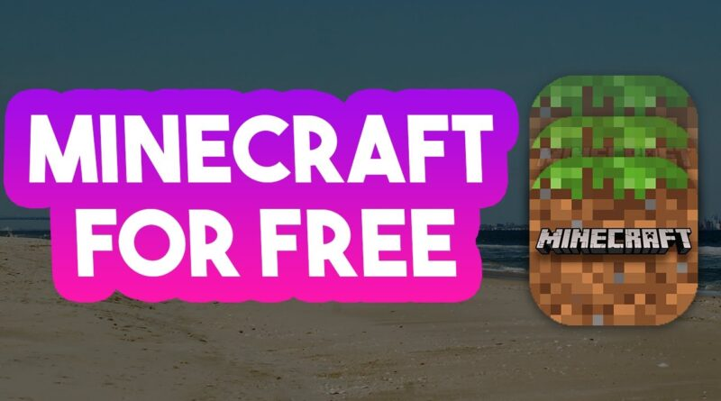 Minecraft FREE - How To Get Minecraft For FREE On iOS/Android APK 2020
