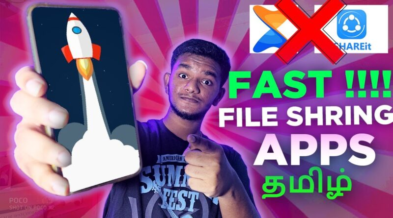 Top 5 Best Non Chinese File Sharing app for android | TAMIL | ❌shareit ❌xender