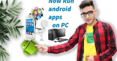 how to run android apps on PC & Laptop :2020
