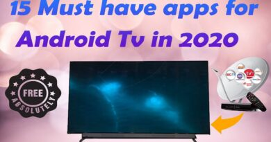 15 must have Apps for Android Tv in 2020