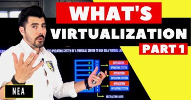 What's VIRTUALIZATION VMware and Hyper-V | DETAIL and ENGAGING EXPLANATION PART half of 8