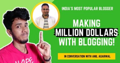 India's Most Widespread Blogger Anil Agarwal जो लाखो कमाते है। - In Dialog With @BloggersPassion 8