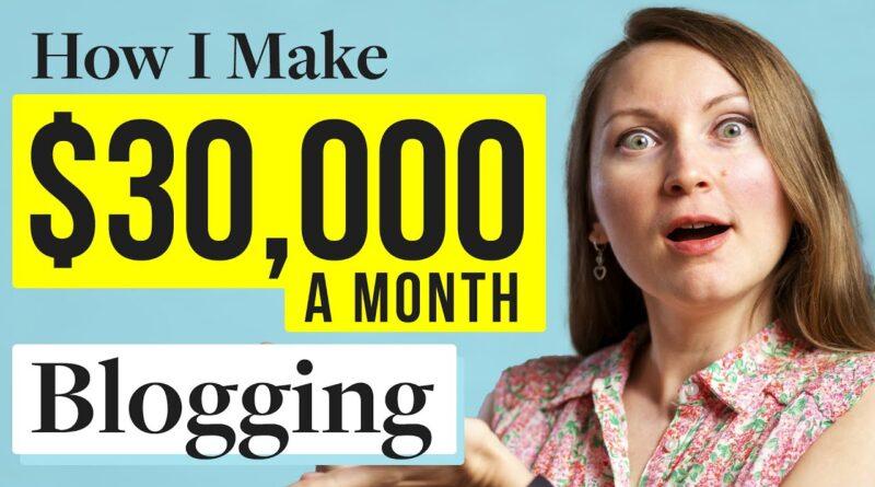How To Begin A Weblog And Make Cash in 2021 (I Make Over $30,000mo Running a blog!) 5