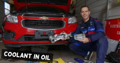 COOLANT IN OIL OR OIL IN COOLANT CHEVROLET CRUZE CHEVY SONIC 8