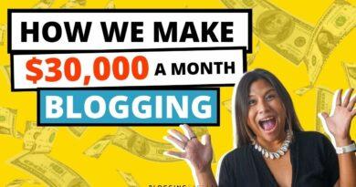 Make Cash Running a blog: 6 Methods How We Make Over $30,000 / Month From Our Weblog 8