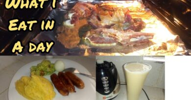 WHAT I EAT IN A DAY LIVING ALONE *On a Sunday* | As a Foodie😉 7