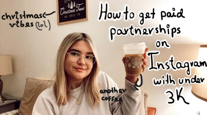 HOW TO GET PAID PARTNERSHIPS ON INSTAGRAM WITH UNDER 3K 7