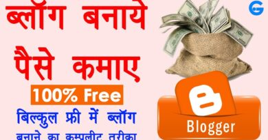 Blogger Tutorial for Novices in Hindi - blogger se paise kaise kamaye | weblog kaise banaye free 8