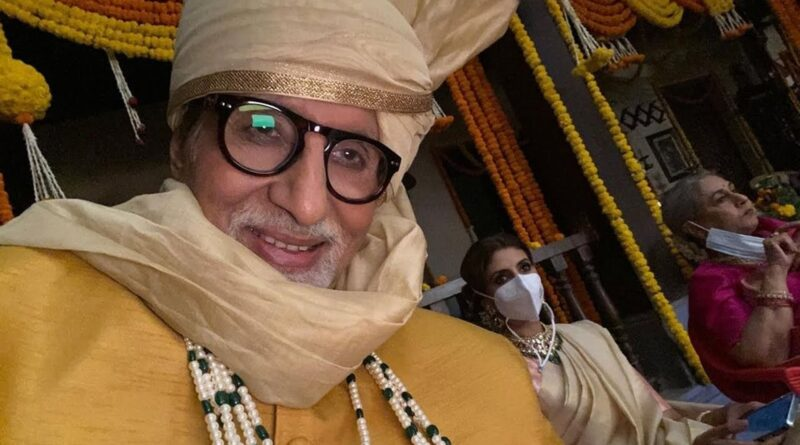 Amitabh Bachchan and 'household at work', actor shares on-set photos 6