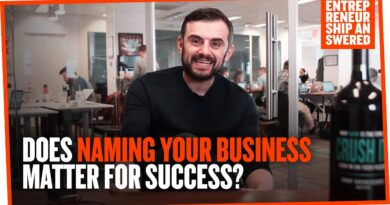Does Naming Your Business Matter for Success?