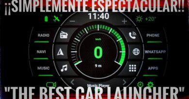 El mejor Car Laucher para Android. ¡Todo un Panel de Control para tu automóvil!
