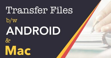 FASTEST - how to transfer files from Android to Mac and vice versa using a USB cable