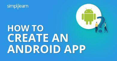 How to Create an Android App | Android App Development Tutorial For Beginners