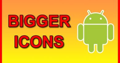 How to enlarge Apps icons on android phone (Make them Bigger)