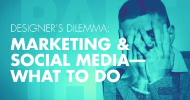 Marketing and Social Media Tips for Designers pt. 3/3