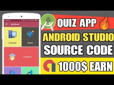 Quiz App Source Code    Free Android Studio Source Code