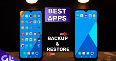 Top 5 Apps for Backup and Restore Data on Android | Transfer Data Easily | Guiding Tech