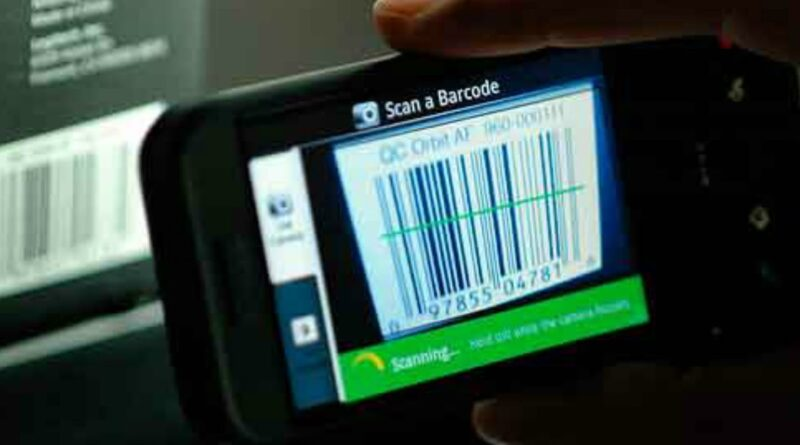 how to scan qrcode/barcode on your android phone