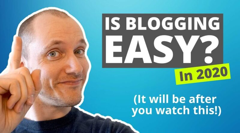 Is Running a blog Straightforward in 2020? Making Your First $1,000 (for Newbies)