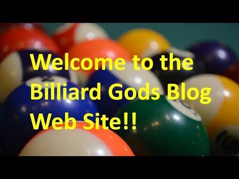 Introduction to the Billiard Gods Weblog website at www.billiardgods.com