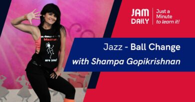 JAM Day by day #58 | Simply A Minute To Study 'Jazz- Ball Change' | Dance With Madhuri