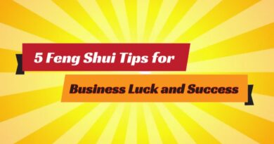 5 Feng Shui Tips for Business Luck and Success