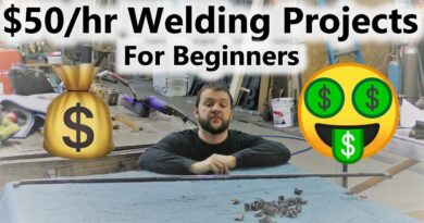 $50+/hr Beginner Welding Products you can SELL to get your business going