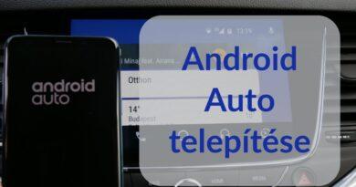 Android Auto telepítése lépésről lépésre