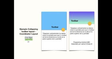 Android Collapsing Toolbar - Para principiantes